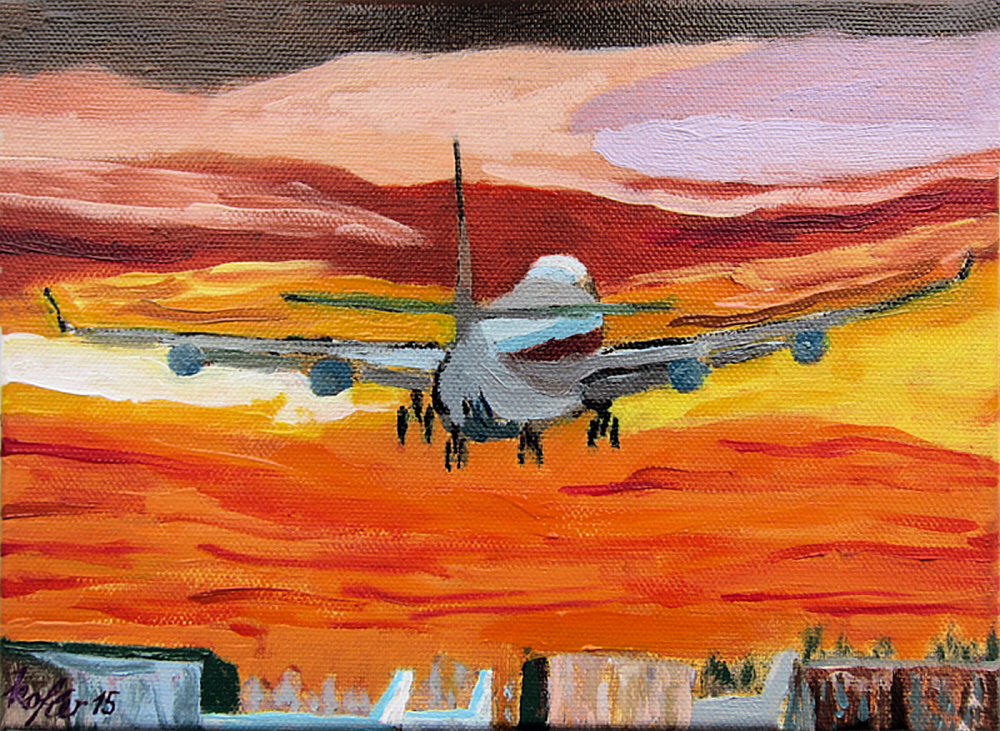 Painting: The Last Boeing 747