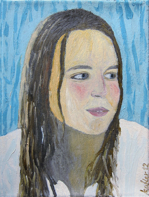 Painting: Marias portrait